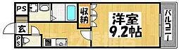 福岡県福岡市東区香住ケ丘3丁目の賃貸マンションの間取り