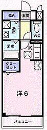 香川県坂出市室町3丁目の賃貸アパートの間取り