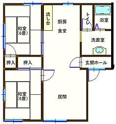 ラフォーレ大前5 203号室[2階]の間取り