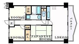 リメーン檜[6階]の間取り