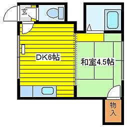 大壱ハウス[2階]の間取り