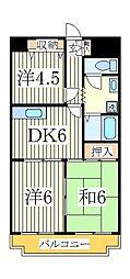 ネモト第三ビル[5階]の間取り
