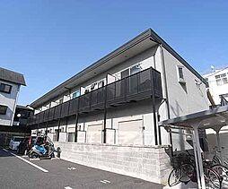 京都府京都市南区東九条北松ノ木町の賃貸アパートの外観