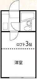 東京都練馬区早宮1の賃貸アパートの間取り