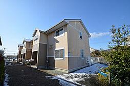 兵庫県姫路市余部区上余部の賃貸アパートの外観