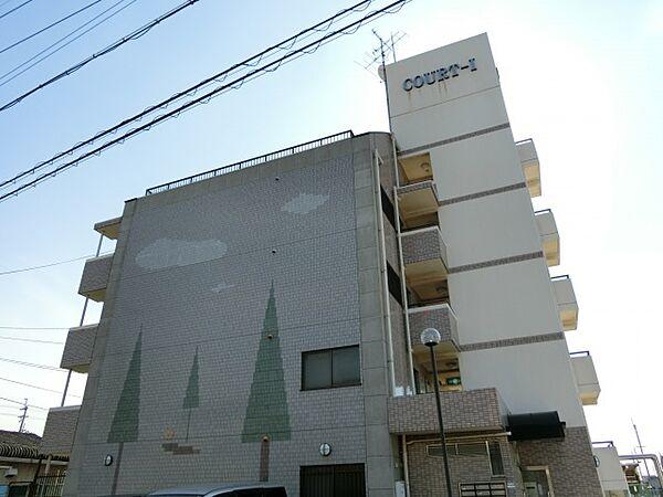 COURT-1(コートワン)[2階]の外観