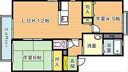 タイムII[2階]の間取り