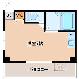 タナカビル[4階]の間取り