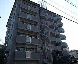 京都府京田辺市田辺中央の賃貸マンションの外観