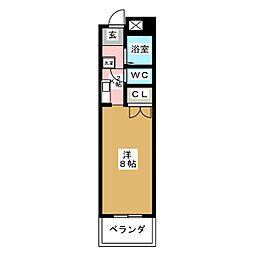サンクレスト六番[1階]の間取り