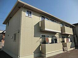 愛知県安城市大山町2丁目の賃貸アパートの外観