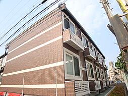 兵庫県宝塚市売布4丁目の賃貸アパートの外観