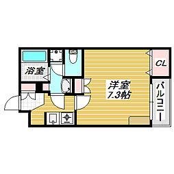 沢ノ町駅前88マンション[2階]の間取り