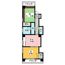 ファミール ITOH[3階]の間取り