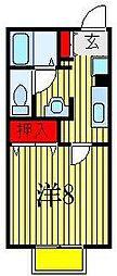 サンピラー[2階]の間取り