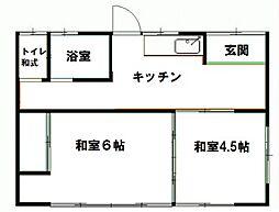 [一戸建] 群馬県高崎市貝沢町 の賃貸【/】の間取り