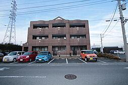 群馬県伊勢崎市茂呂町2の賃貸アパートの外観