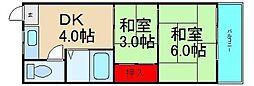 武智産業ビル[224号室]の間取り