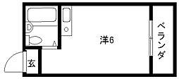 YOUハイム金岡[108号室]の間取り