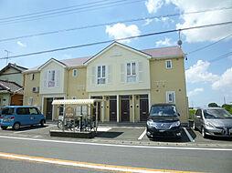 静岡県浜松市浜北区寺島の賃貸アパートの外観