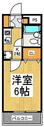 MAC東大和コート[1階]の間取り