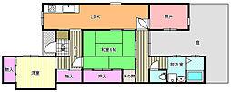 [一戸建] 大阪府大阪市東住吉区鷹合2丁目 の賃貸【/】の間取り