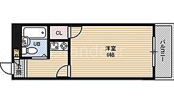 グランシュマン[6階]の間取り