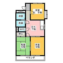 アニバーサリー[2階]の間取り