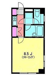 グランドボナール桜木町[1階]の間取り