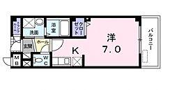 バルビゾンI[1階]の間取り