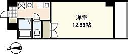 広島県広島市南区大州2丁目の賃貸マンションの間取り