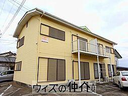大竹コーポB[201号室]の外観