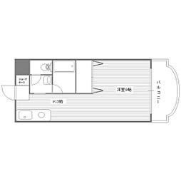 サンクスハイム・ヒロ[2階]の間取り