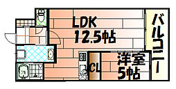 THE SQUARE・Grand Residence[7階]の間取り