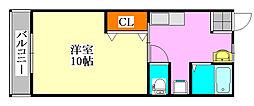 第7アトムステーションビル[203号室]の間取り