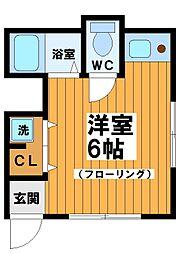 スタービラ笹塚5[1階]の間取り