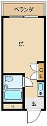 ロワール本町[306号室]の間取り