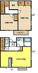 [テラスハウス] 愛知県名古屋市千種区光が丘2丁目 の賃貸【/】の間取り