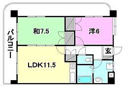 UTARA  HOUSE[101 号室号室]の間取り