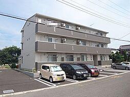 埼玉県熊谷市久下3丁目の賃貸アパートの外観