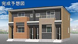 埼玉県比企郡嵐山町大字菅谷字東側の賃貸アパートの外観