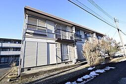 鶴田ローズタウンB[1階]の外観