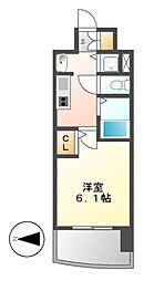 プレサンス桜通グレイス[4階]の間取り
