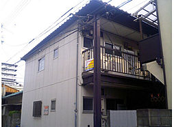 兵庫県西宮市笠屋町の賃貸アパートの外観