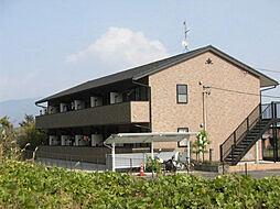 岐阜県中津川市駒場の賃貸アパートの外観