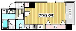 ラ・ウェゾン塚本通[9階]の間取り