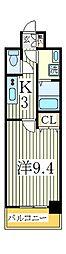 GRAND RISE[9階]の間取り