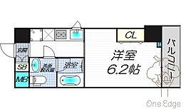 AXIS UMEKITA[8階]の間取り