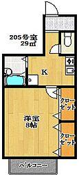 グレイトバレー[2階]の間取り