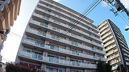 埼玉県川口市仲町の賃貸マンションの外観